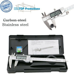 Electronic-Stainless-Steel-LCD-Gauge-Micro-Digital-Vernier-Caliper-Measure-Tool