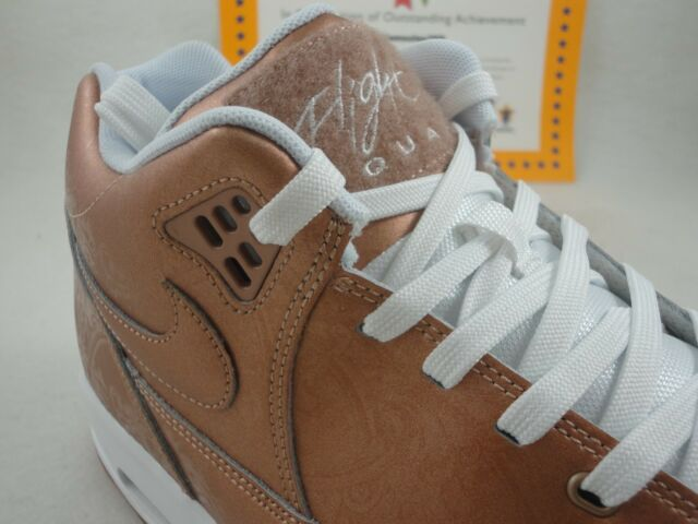 a3ac8343147aa Nike Flight Squad Metallic Red Bronze Mens Retro Basketball Shoes Air  724986-900 12