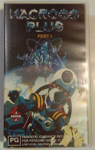 Macross-Plus-Part-1-VHS-1993-Anime-Sh-ji-Kawamori-Manga-Entertainment-Small