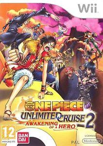 One-Piece-Unlimited-Cruise-2-Awakening-Of-A-Hero-UK-Import-Nintendo-Wii-IMPORT