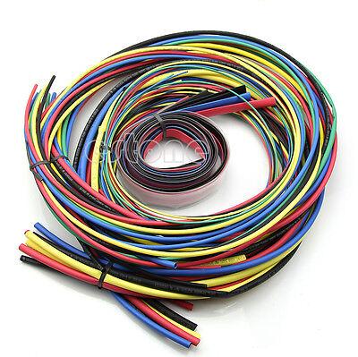 55M/Set, Heat Shrink Tubing 11 sizes 6 Colours Tube Sleeving Pack
