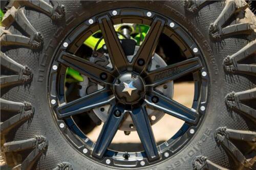 "14/"" MSA Offroad UTV Clutch M33 Wheel Rim Satin Black 14x7 4x156 10mm Offset"