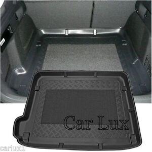 Alfombra Bandeja Cubeta maletero VW TOUAREG II desde 2010 con Antideslizante