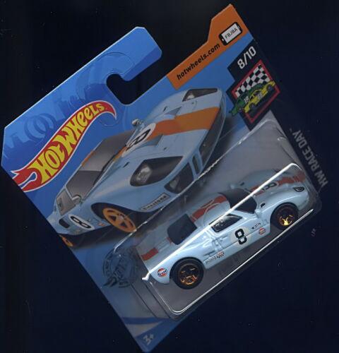 "/""FORD GT-40/"" Gulf-Racing,Blau-Orange,1:64,Klassik MODELL HOT WHEELS 2020 NEU OVP"