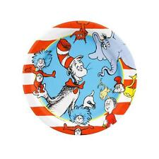 Cat in the Hat Dr Seuss Party PLATES CAKE Birthday Supplies 8PC Decoration *NEW
