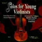 Solos for Young Violinists, Vol 2: Selections from the Student Repertoire by Alfred Publishing Co., Inc. (CD-Audio, 1995)