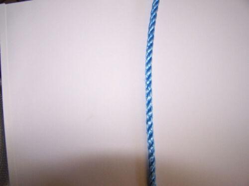 """400/' Poly Pro Ocean Blue Sport corde pour frontières 5//16/"""" Ligne De Pêche Crabe lignes"""