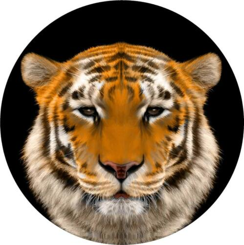 Spare Wheel Cover Vinyl Sticker TIGER  4x4 Land Rover Defender Discovery Tyre