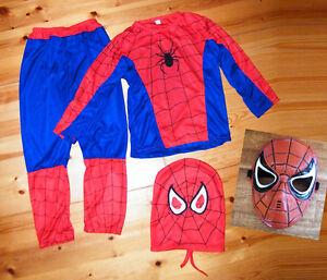 Costume-Spiderman-Enfant-Deguisement-Super-Heros-Masque-Carnaval
