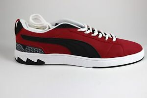 cheap for discount 45a2a 728b5 Details about Men's Puma Future Suede Lo 2.0 35696906 Jester Red Black  Brand New
