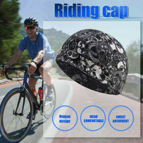 Helmfutter Schweißableitende Kappe Laufkappe Fahrradkappe Fahrradmütze 1 Stück