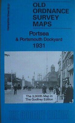 OLD ORDNANCE SURVEY DETAILED MAPS PORTSEA HAMPSHIRE 1907 Godfrey Edition New