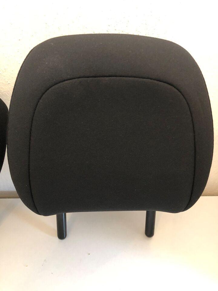 Sæde og seler, 3x Nakkestøtter, Citroën C4