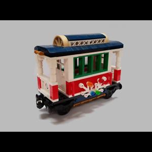LEGO-Holiday-Train-10254-Custom-Passenger-Carriage