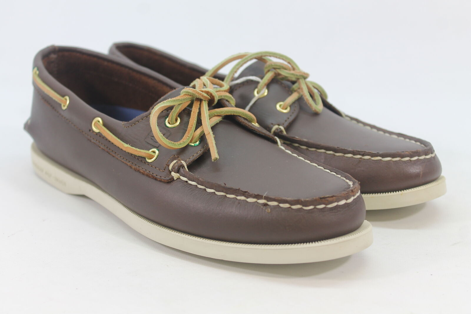 Sperry-Top Sider Authentic Original Women's Brown Boat Shoe 10M(ZAP12316)