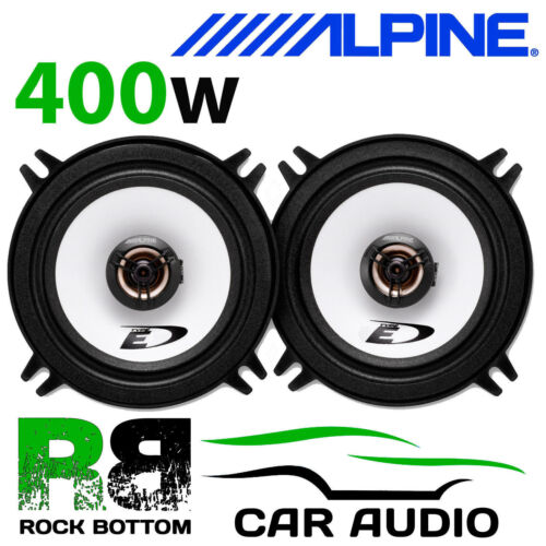 "ALPINE RENAULT MEGANE SCENIC 96-03 5.25/"" 13cm 2 Way 400W Coaxial Front Speakers"
