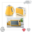 thumbnail 109 - Swan Retro 1.5L Jug Kettle 3KW, 2 Slice Toaster 815W & 20L Digital Microwave Set