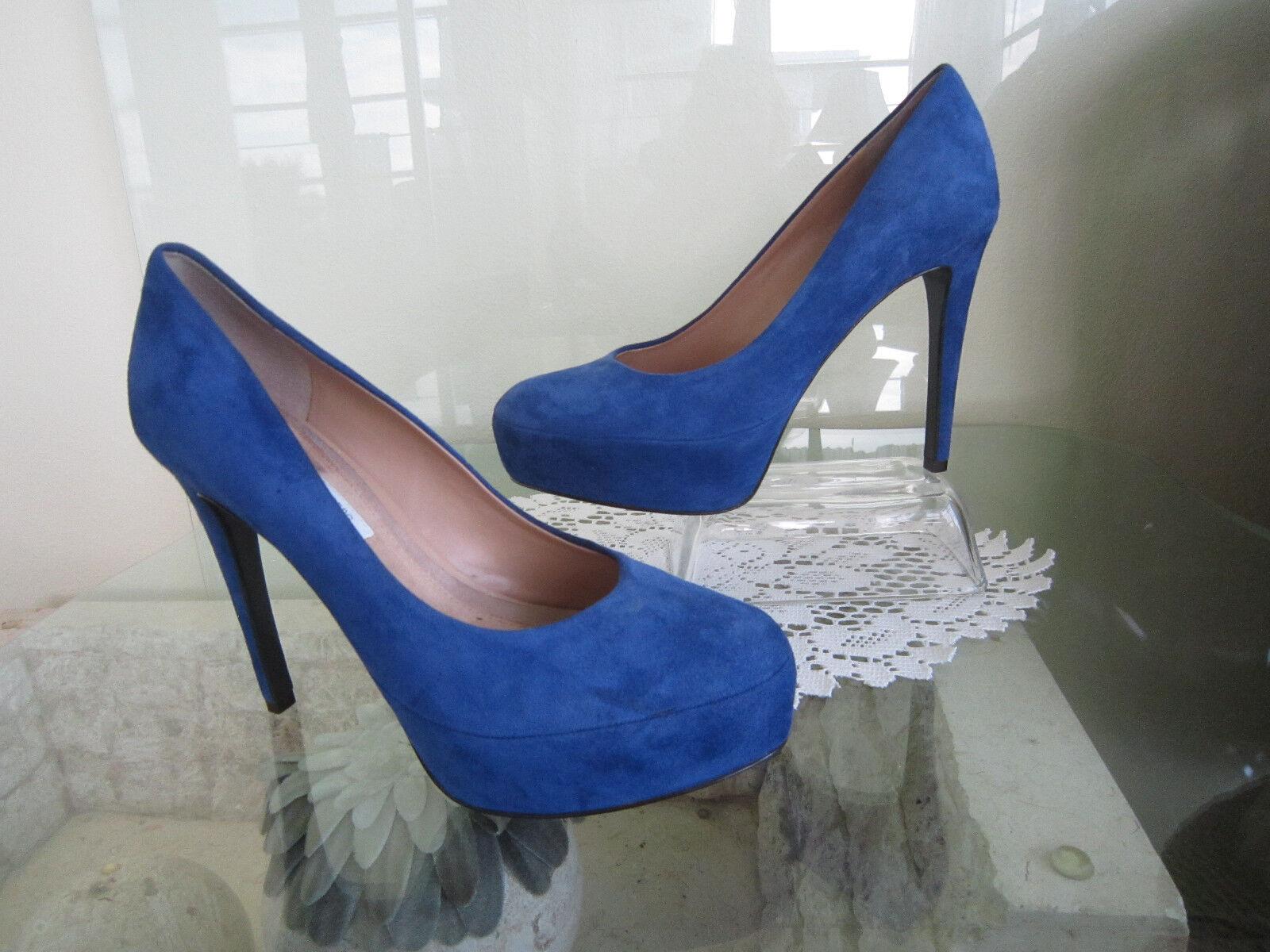 outlet online economico Diane Von Furstenberg  donna donna donna blu Renee Suede Pumps Dimensione 9 M   298.00  alta qualità