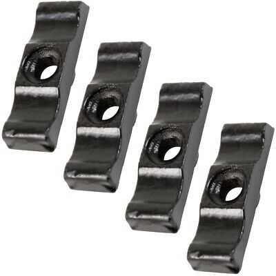4x BLACK LARGE 38MM TURN BUTTON LATCH Shed Rabbit Hutch Door Cupboard Catch NEW