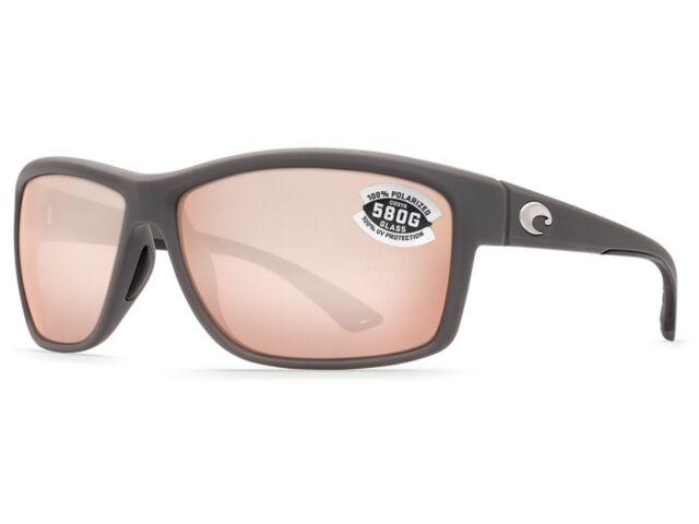 981ff93e5c Costa Del Mar Mag Bay AA 98 Matte Gray Sunglasses Silver 580g for ...