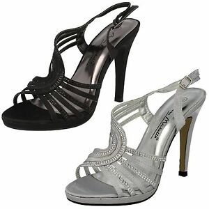 Donna Anne Michelle l3389 tacco alto cinturino sandali da sera