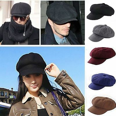 Newsboy Herren Damen Flatcap Schirmmütze Ballonmütze Caps Schiebermütze Hut Hüte