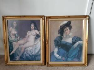Two-Framed-Norman-Lindsay-Prints