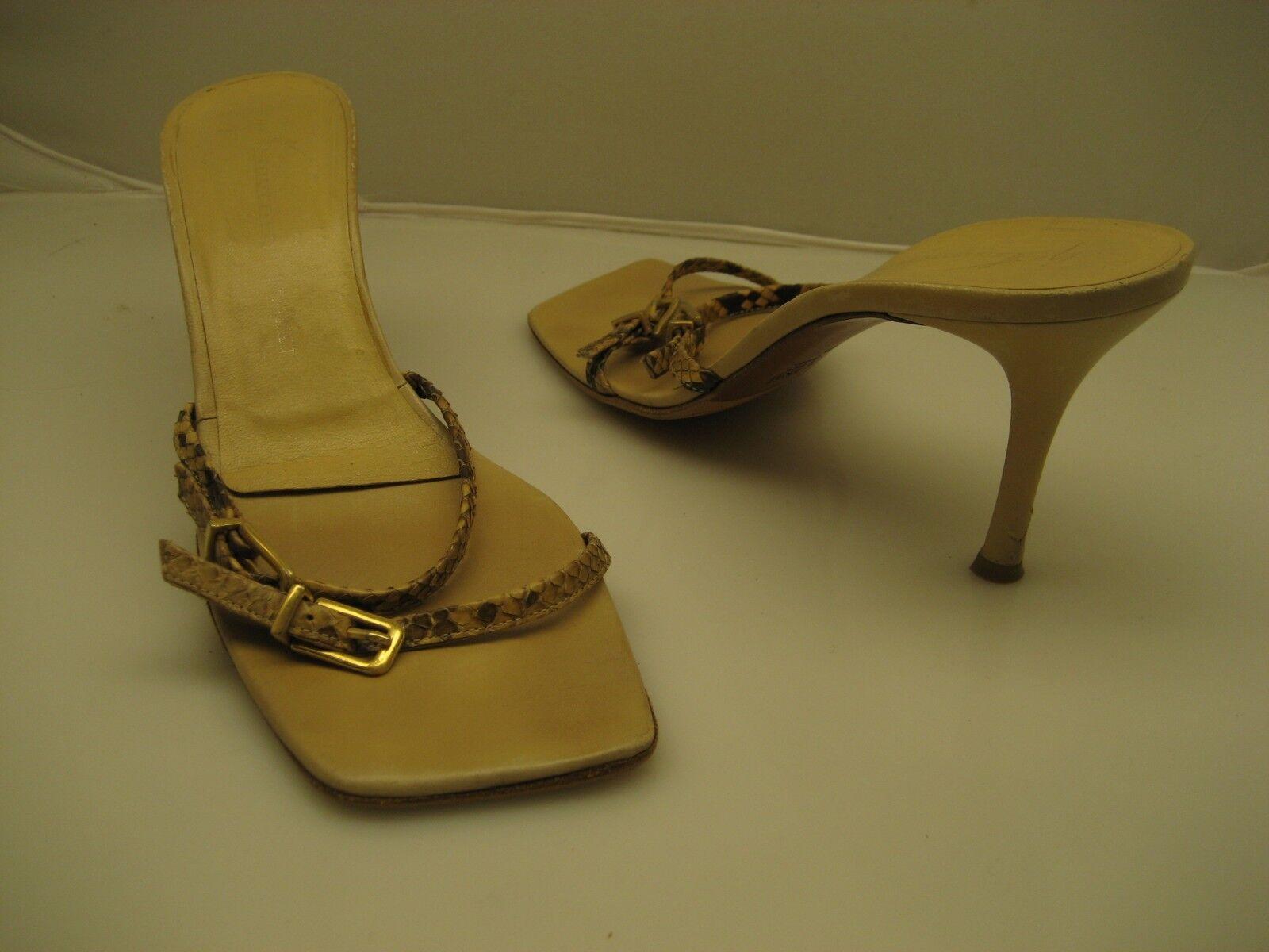 Wouomo Giuseppe Zanotti Heel sandals Dimensione 40 Made in