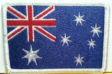 AUSTRALIA Flag Patch With VELCRO® Brand Fastener  Military Emblem
