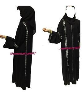 Dubai Abaya Style Kaftan Farasha  Maxi Dress Abaya jalabiya jibab jacket