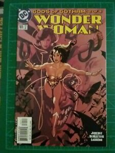Details about Wonder Woman #165 NM, Adam Hughes Cover! Gods of Gotham part  2, Batman, Harley
