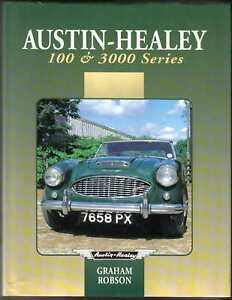 Austin-Healey-100-amp-3000-Series-by-Robson-BN1-BN2-100S-3000-Racing-Rallying-1984