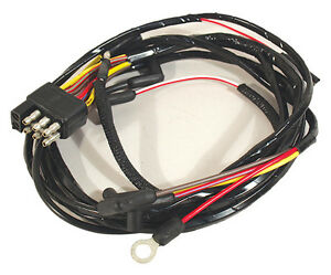 1966 ford mustang gauge feed wiring harness with 8 cylinder engine rh ebay com