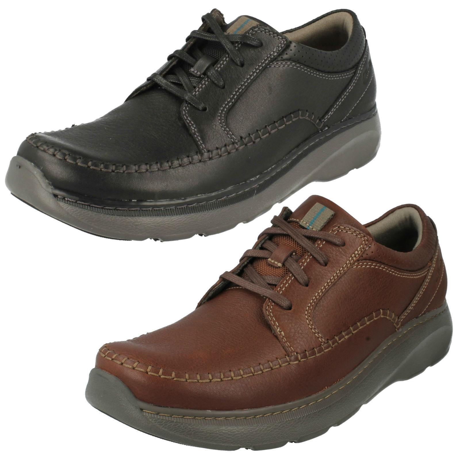 Mens G weite Passform CHARTON VIBE Freizeit Schnürschuhe Schuhe von Clarks