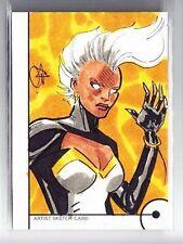 2013 Marvel Fleer Retro Storm Sketch Card by Unknown Artist (1/1)