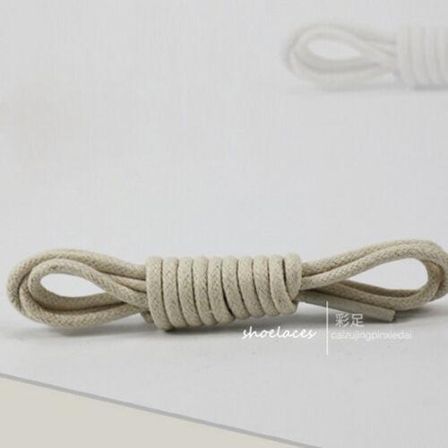 Rund Gewachst Kleid Schuhbändel Lederschuhe Strings Stiefel Schnürsenkel Kordel~