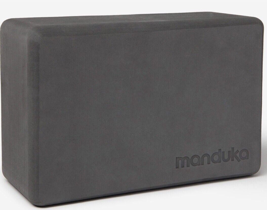 Manduka Recycled Foam Yoga Block slip-resistant