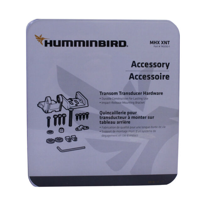 Humminbird Mhx-Xnt Transducer Mounting Bracket Kit For Transom W// Kick Up