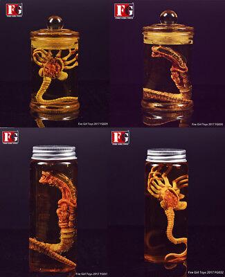 Fire Girl Toys 1//6 Predator Alien Facehugger Chestburster Figure Model Collectio