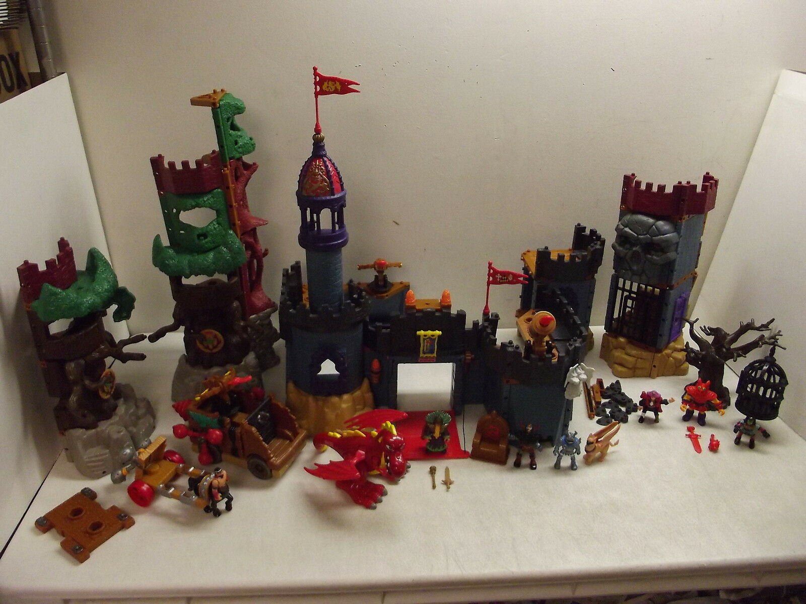 FISHER PRISE IMAGENEXT CASTLE GOBLINS DUNGEON FÖRLORAD WAGON drake Lot
