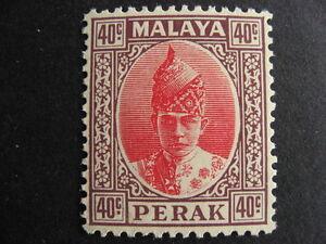 MALAYA PERAK Sc 94 MNH! A nice stamp!