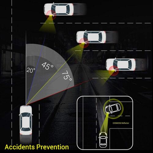 Car Reflective Strips 2x Night Light Alarm Door Sticker Warning Tape Safety