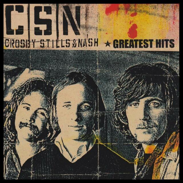 CROSBY STILLS & NASH - GREATEST HITS CD ~ BEST OF ~ DAVID~GRAHAM~STEPHEN *NEW*