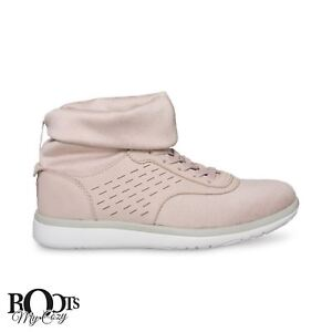 3e73eac4071 Details about UGG ISLAY QUARTZ LEATHER HIGH TOP STRETCH WOMENS SNEAKERS  SIZE US 11/UK 9.5 NEW