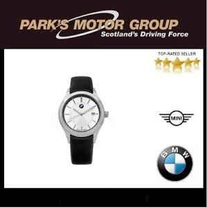 BMW-Wristwatch-Ladies-Black-Leather-Strap-80262406684