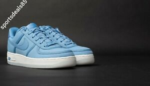 Details about Mens NIKE AIR FORCE 1 LOW RETRO QS CANVAS Trainers AH1067 401 UK12 EU47.5 US13