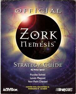 ZORK-NEMESIS-The-Official-Strategy-Guide-USED-Book