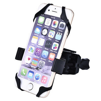 Universal Motorcycle MTB Bicycle Bike Handlebar Mount Holder For Cell Phone GPS