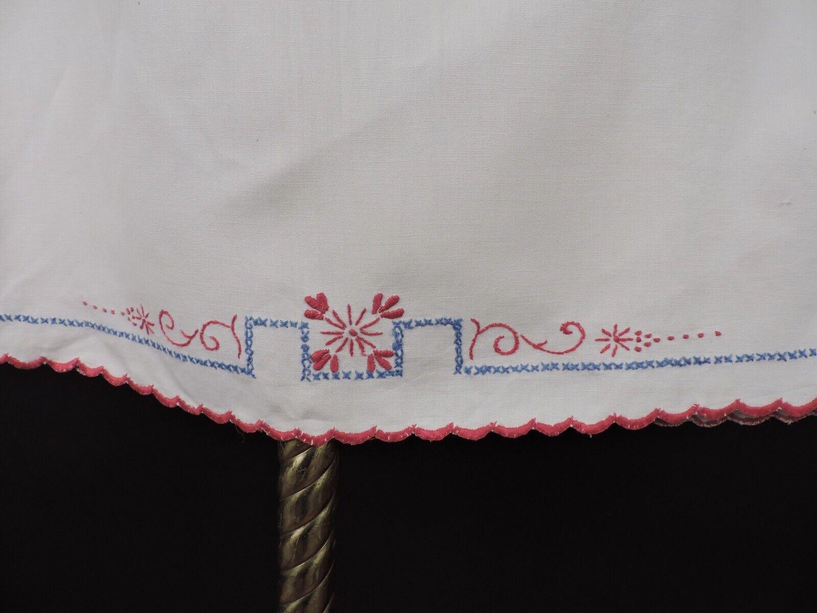 ANTIQUE EDWARDIAN HAND EMBROIDERED CHILD'S DRESS … - image 5