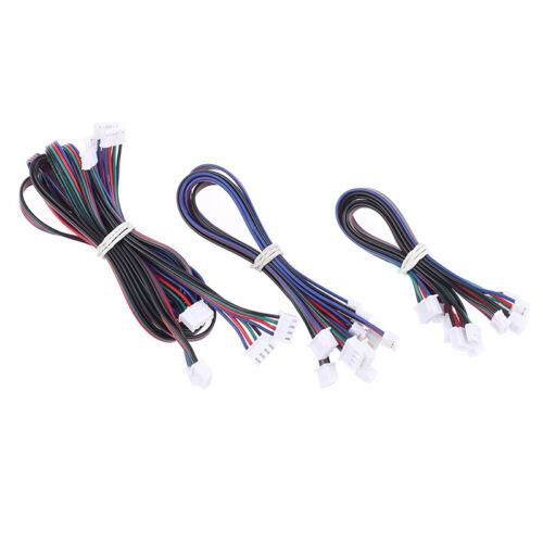 5Pcs 3D Printer Parts Stepper Motor cables 4pin to 6pin XH2.54 connector wi SQEX